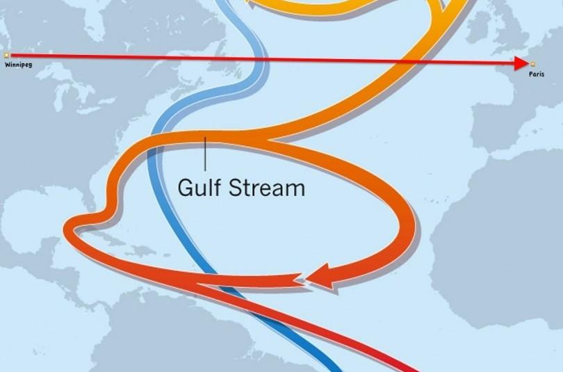 Гольфстрим в Арктическом бассейне