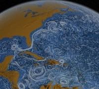 Воды Гольфстрима в Тихом океане